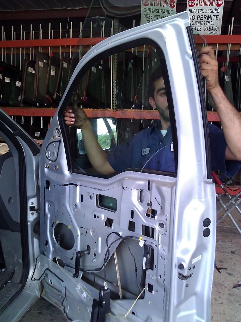 Professional auto glass repairs